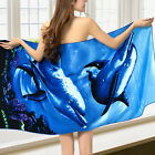 Bath Towel Microfiber Toallas Sport Beach Large Super Absorbent Animal