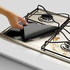 Home Reusable Stovetop Protector Foil Gas Hob Range Burner Cover Liner 1/4/10Pcs