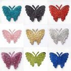 CLUBGREEN Butterflies Self Adhesive Glitter Stick On Stickers 12pcs Card Making