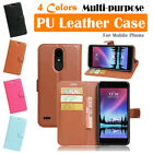 LG Grace LTE LV5 V5 L59BL Leather Flip Wallet Protective Case Cover Stand Pouch