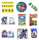 SUPER MARIO & SONIC the HEDGEHOG - Birthday Party Ranges Balloons Banners{GEMMA}