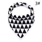 US Seller Kids Baby Feeding Head Scarf Towel Bib BoyGirl Bandana Saliva Triangle