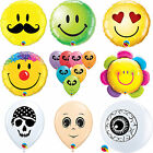 FACE & EYE Printed Latex, Bubble & Foil Balloons {QUALATEX} Birthday Party Decor