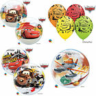 DISNEY PIXAR CARS & PLANES Qualatex Latex & Bubble Balloons - McQueen & Mater