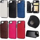 Slim Leather Magnetic Holder Wallet Card Stand Case Cover For iPhone 6S 7/8 Plus