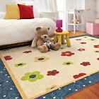 KIDS RUGS KIDS AREA RUG CHILDRENS RUGS PLAYROOM RUGS FOR KIDS ROOM FLOWERS NEW