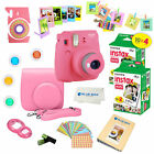 Fujifilm Instax Mini 9 Instant Camera 40 Fuji Film SHEETS Accessory Bundle