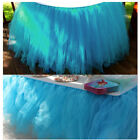 Tulle Tutu Table Chair Skirt for Wedding Birthday Party Baby Gauze Decoration