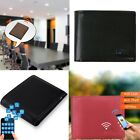 Bluetooth Mens Leather Wallet Anti theft/Lost Smart Tracker Finder Alarm GPS Map