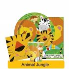 ANIMAL JUNGLE PARTY RANGE (Party Tableware, Banners, Balloons & Decorations) UQ