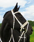 FSS GLISTEN Curve CRYSTAL Bling METALLIC GOLD Padded WHITE Comfort PATENT Bridle