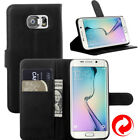 Samsung Galaxy S6  SM-G920 Leather Wallet Protective Case Stand Folio Card Pouch
