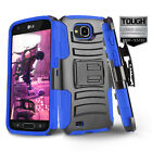 REFINED ARMOR COVER PHONE CASE & HOLSTER CLIP FOR [LG X VENTURE] +TEMPERED GLASS