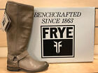 Frye Phillip Harness Tall Grey Boots