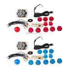 New Arcade DIY Kits Parts USB Encoder To PC China Sanwa Joystick + Buttons