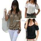New Basic Women Ladies Short-sleeved Loose Trend T-shirts Blouse Tops S0BZ 01