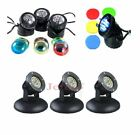 Jebao LED Submersible Underwater Garden Pond Pool Lights Spotlight