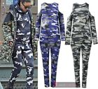 INSPIRED BY RIHANNA LONG SLEEVE COLD SHOULDER CAMO PRINT LOUNGE SET SIZE S-L
