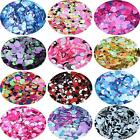 Circles Glitter -  Mixed Mylar Chunky - Festival Makeup Body Face Nail - 250 Col