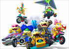 Mario Kart 8 Poster Koopalings Nintendo Wii Switch New FREE P+P CHOOSE YOUR SIZE