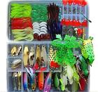 Fishing Lure Kit for Freshwater Saltwater,trout Bass Salmon(with Free Tackle...