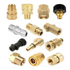 Внешний вид - 13Style Brass Hose Coupling Thread Adapter For Power Pressure Washer Water Pump