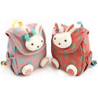 Baby Toddler Kids Girls Cartoon Animal Rabbit Backpack Schoolbag Shoulder Bag