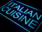 i443-b Italian Cuisine Cafe Restaurant Neon Light Sign