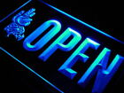 j747-b OPEN Mexican Food Cactu Bar Neon Light Sign