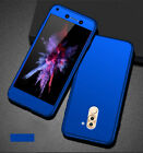 360° Protective Hybrid Case & Tempered Glass Cover for Huawei Honor 6X GR5 2017