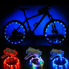 Sporting Goods - LED Bicycle Bike Cycling Rim Lights Auto Open & Close Wheel Spoke Light String