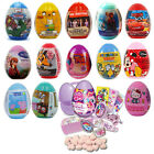 6 x Character SURPRISE EGGS - Sweets & Toys - Party Gifts - PACK OF 6