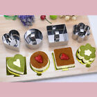 4 Shapes Stainless Steel Mousse Cake Ring Mold Layer Slicer Cook Cutter Kitchen