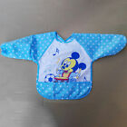 Waterproof Baby Boy Girl Bib Long Sleeve Self Feeding Smock Apron Saliva Dribble