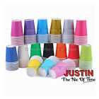Paper CUPS (9oz) Plain Solid Colours Birthday Party Catering Tableware Job Lot