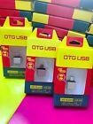 Joblot 5 x Micro USB Male to USB Female Converter OTG Adapter UK Stock