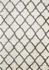 CAROL SHAGGY RUG 3662A Cream Beige Large Shag Thick Soft Floor FREE DELIVERY*
