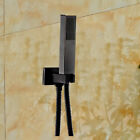 Oil Rubbed Bronze Bathroom Waterfall Faucet Tub Spout Mixer Tap Hand Shower Set