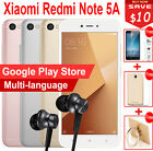 "Original 5.5"" Xiaomi Redmi Note 5A 2GB 16GB Snapdragon 425 13MP LTE Mobile Phone"