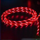 3.3 ft Light-up LED Flashing USB Data Sync Type-C Charger Cable Charging Cord US