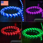 3.3 ft Light-up LED Flashing USB Data Sync Type-C Charger Cable Charging Cord