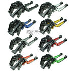 CNC Folding Extendable Clutch Brake Levers Buell 1125R 2008-2009 1125CR 2009 New