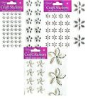 Stick On Self Adhesive Flower Diamante Gemstone Rhinestone Craft Gems