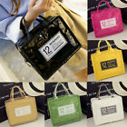 US Portable Insulated Thermal Cooler Lunch Box Tote Canvas Picnic Bag Storage