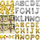 16* 40* Foil Letter Number Balloon A-Z Alphabet Party Decoration Name Air Fill