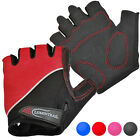Lumintrail Shock-Absorbing Cycling Gloves Breathable Half-Finger Bicycle Gloves