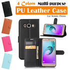 Samsung Galaxy J5 (2016) / SM-J510 Leather Case PSC Cover Skin Wallet Stand