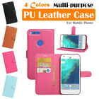 Google Pixel XL Leather Case PSC Multi-purpose Cover Wallet Card Pouch Stand