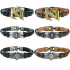 Final Fantasy Dragon Ball Z Death Note Leather Bracelet Bangle Anime Wristband