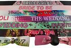 20 - 45 Hen Party Wristbands -  Party Fabric wristbands